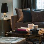 Chicago Loop Hotel Suite Living Room