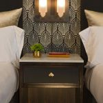 Chicago Loop Double Beds and Nightstand