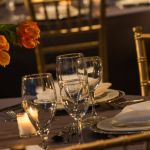 Chicago Loop Social Dinner Table Setting