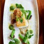 Downtown Portland Restaurant Entrees on Plates