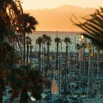Redondo Beach View Of Marina Sunset