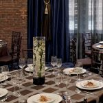 Downtown Seattle Tables with Event Setting