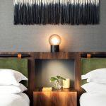 Downtown Seattle Hotel Double Bed Headboard