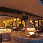 San Juan Resort Outdoor Bar Seating