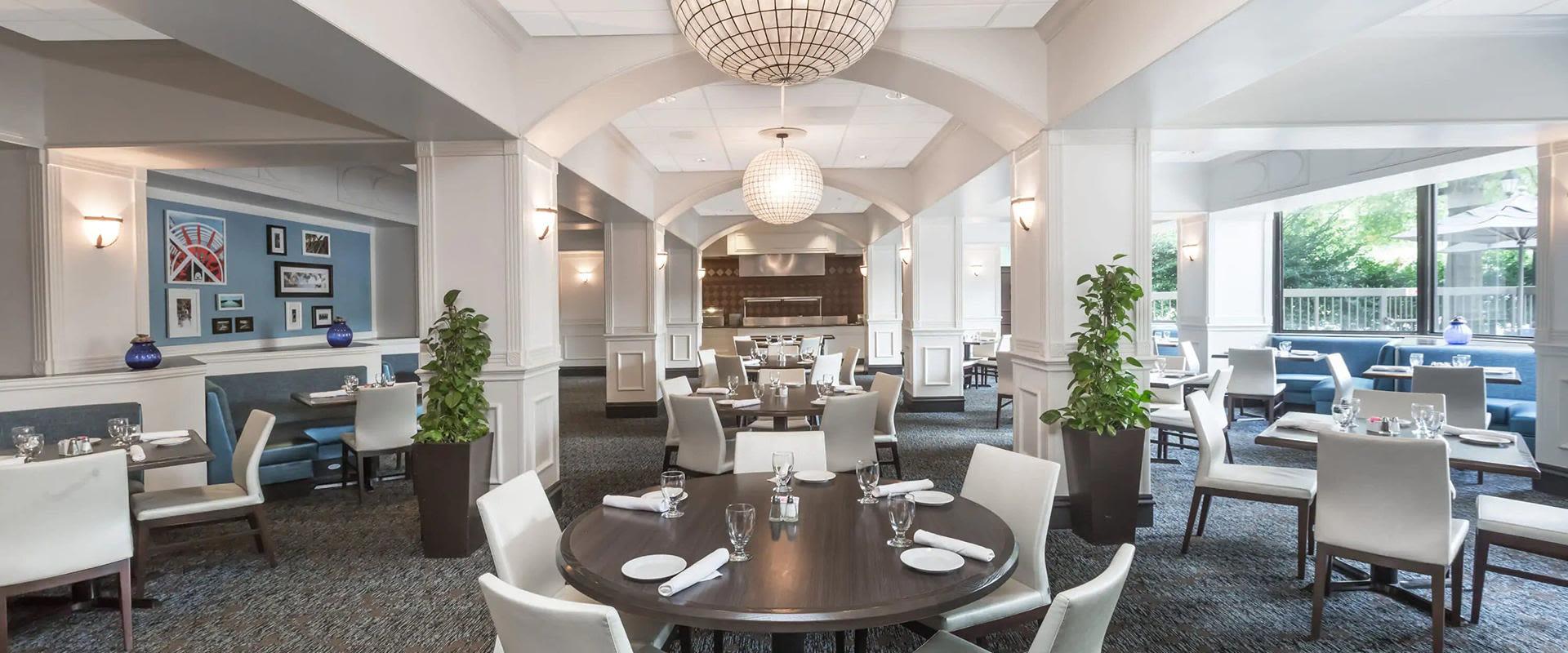 Atlanta Galleria hotel dining room