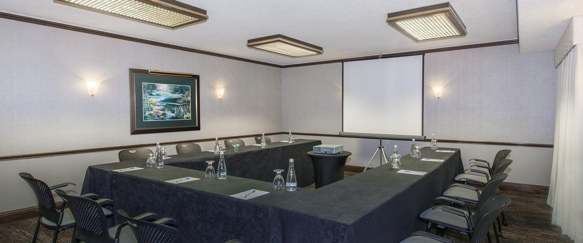 Small Meeting Room with U Shaped Tables