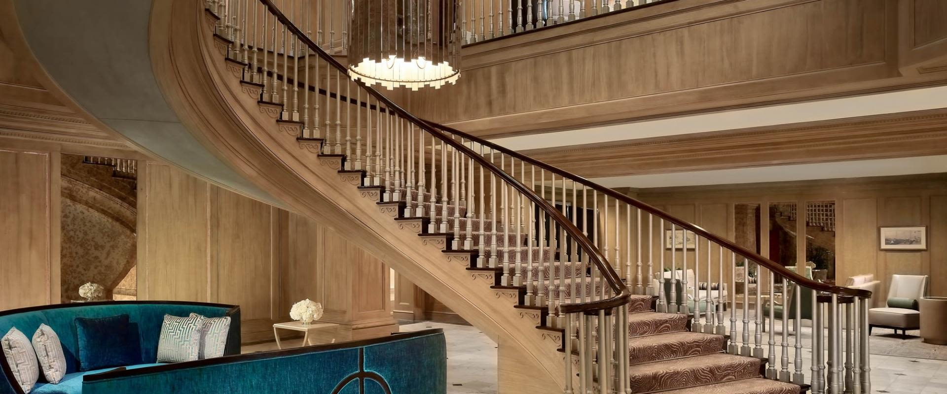 Royal Sonesta Harbor Court Baltimore Staircase