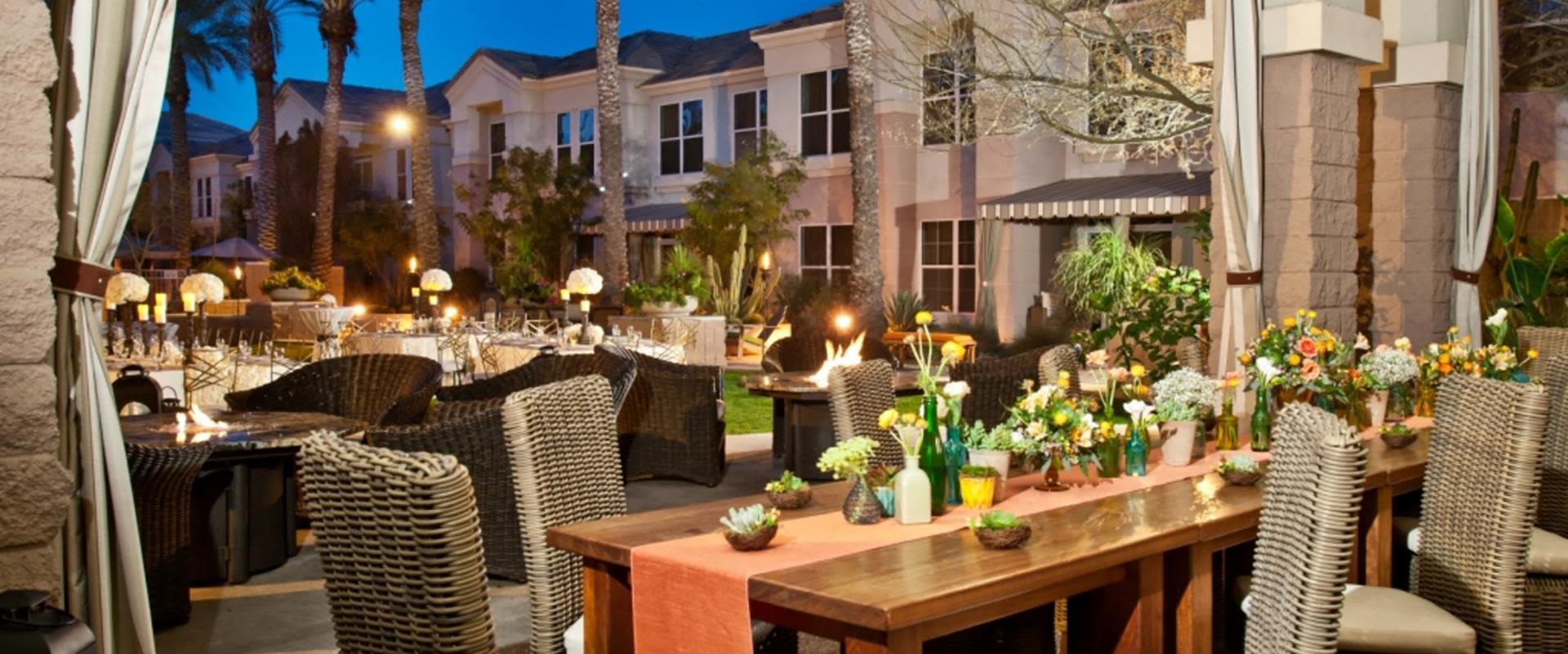 Terrace Patio Garden Table