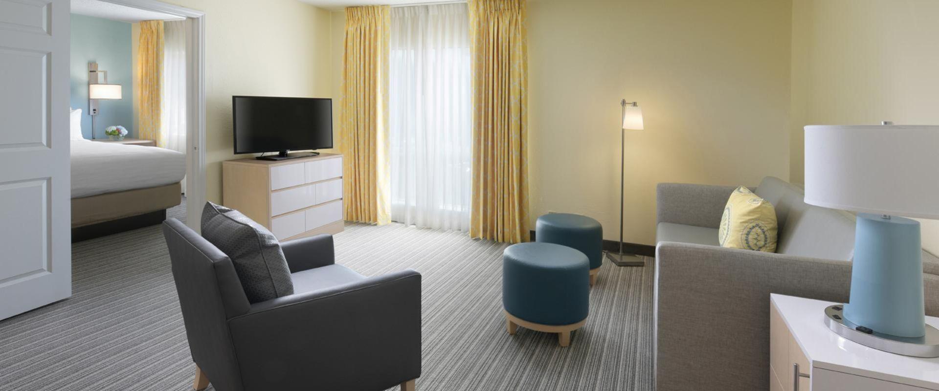 One Bedroom Suite Living Space