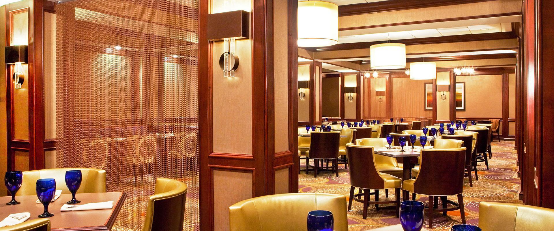 Atlanta Airport Hotel Restaurant Seating Area