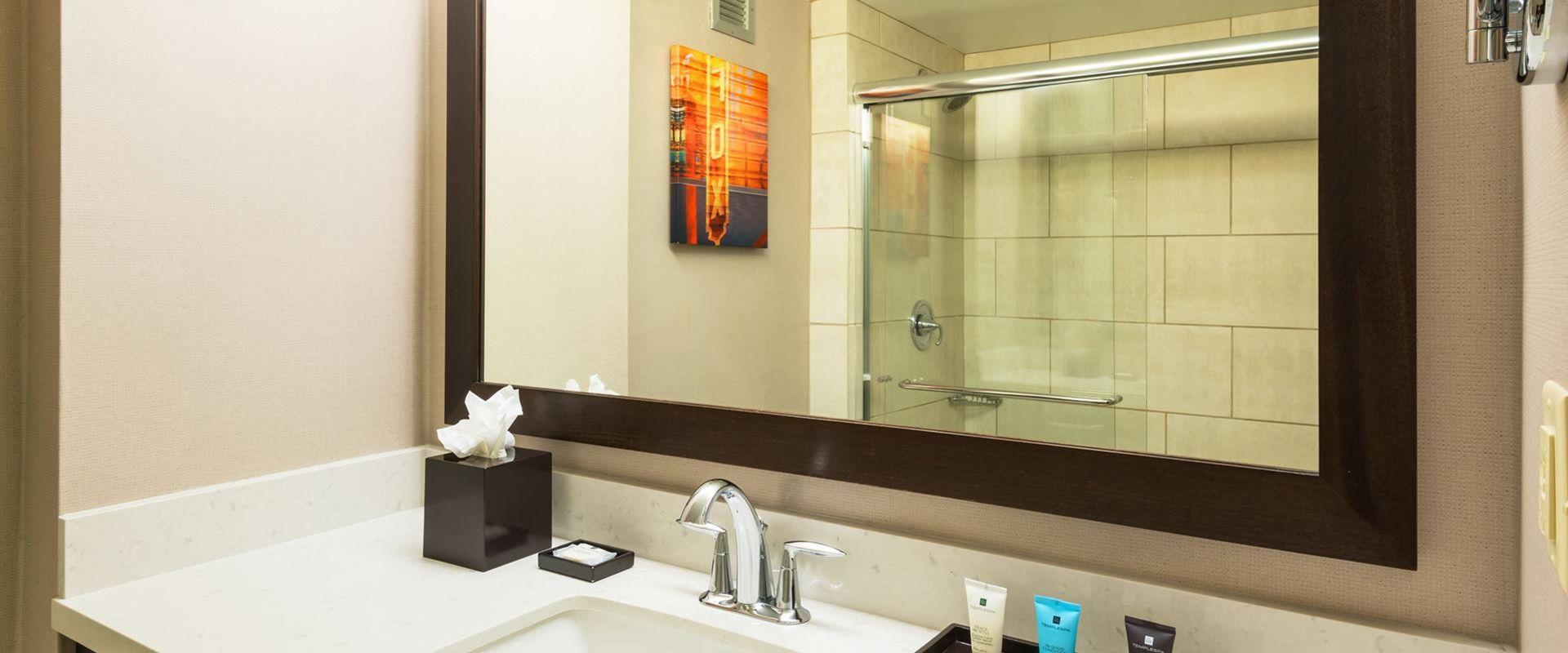 Atlanta Hotel Guest Bathroom Vanity