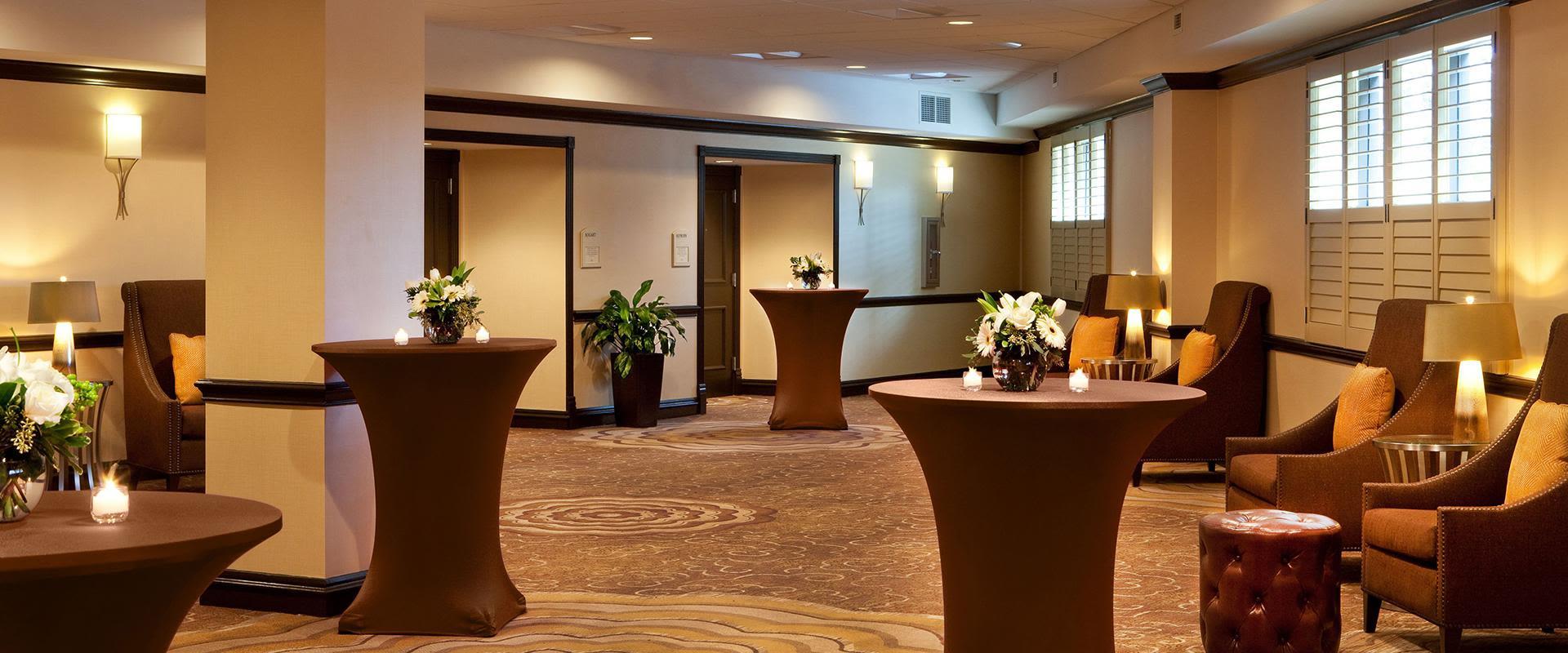 Atlanta Airport Hotel Reception Space