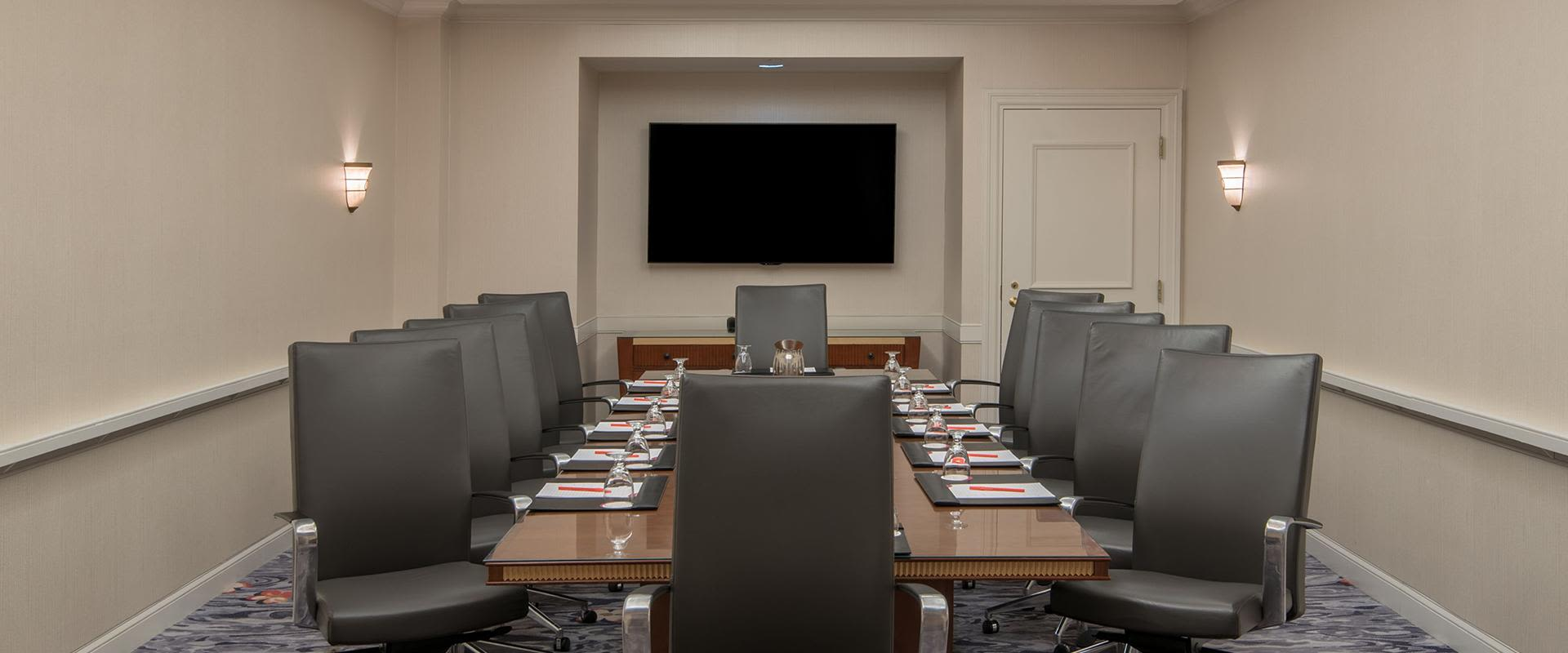 Charlotte Hotel Meeting Room Boardroom