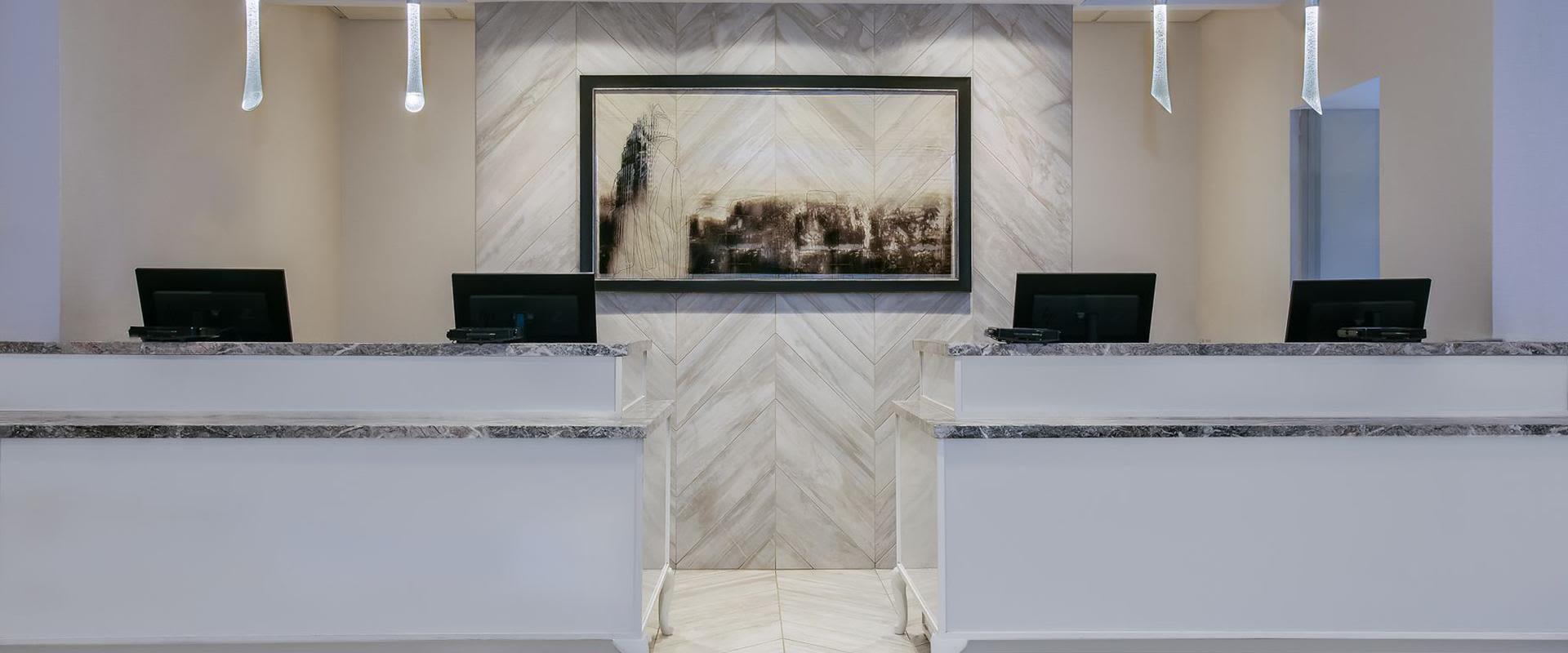 Charlotte NC Hotel Front Desk Reception