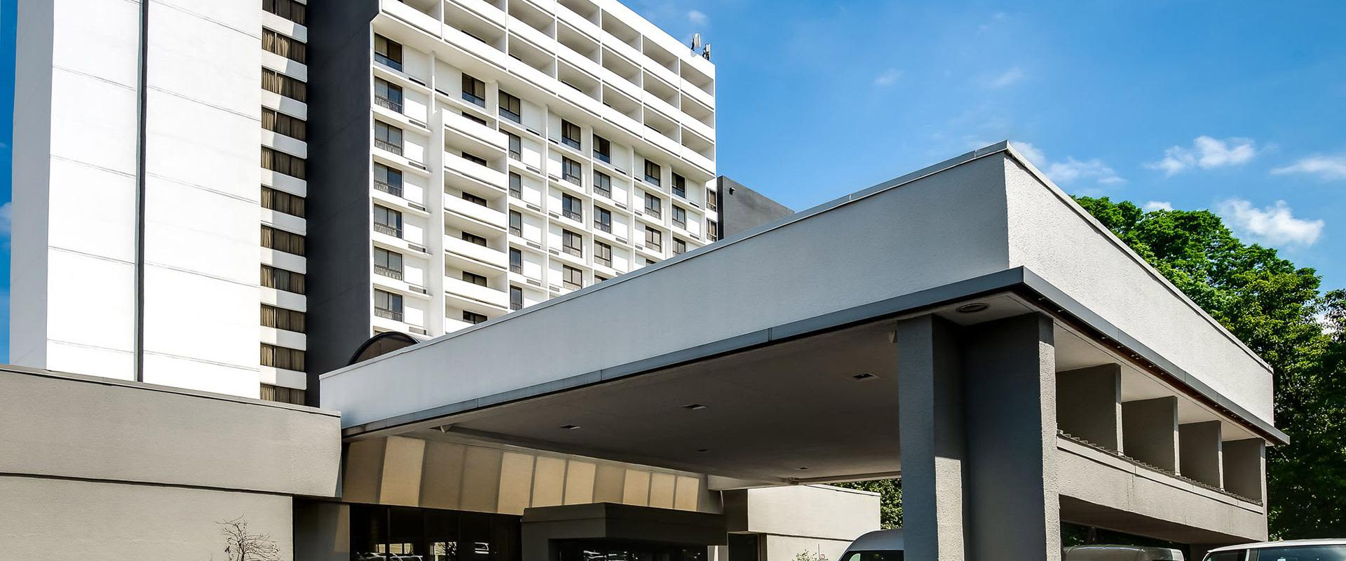 Charlotte NC Hotel Front Exterior of Building