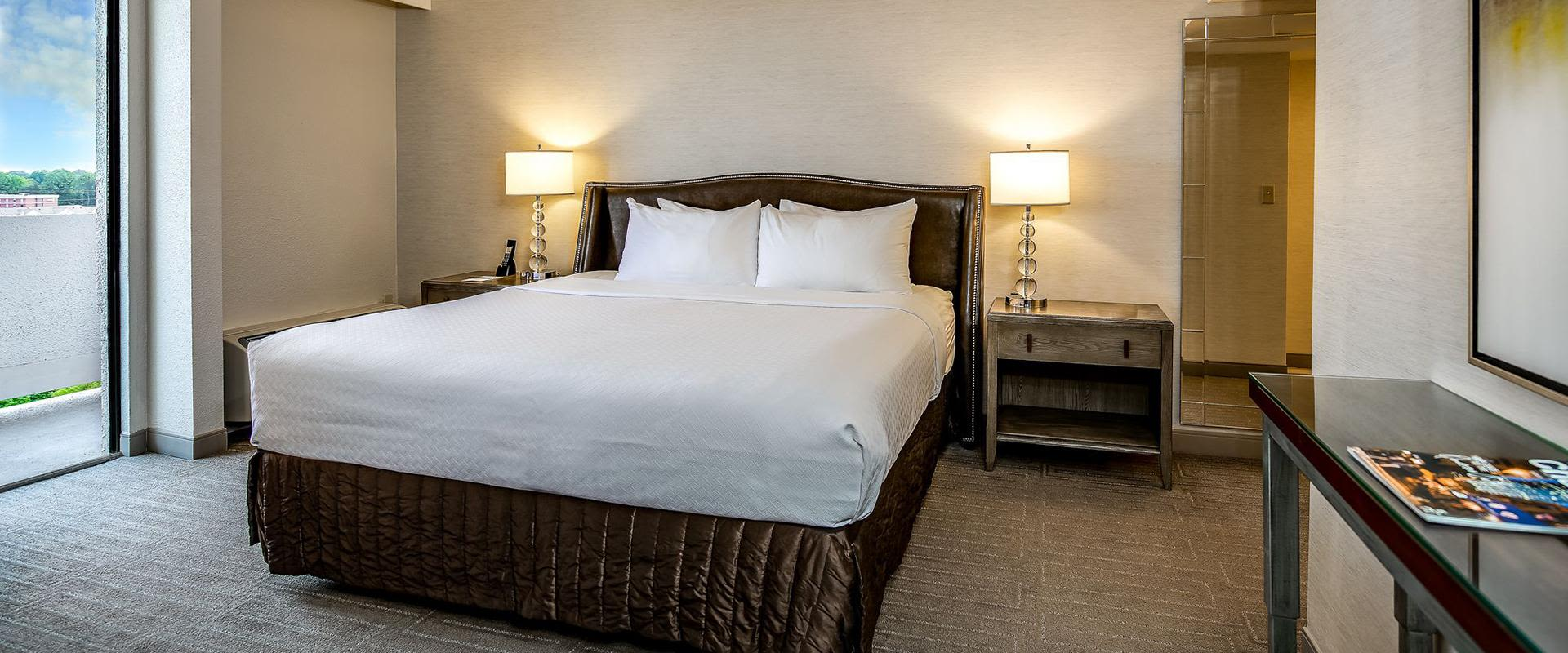 Charlotte Hotel King Bed Suite