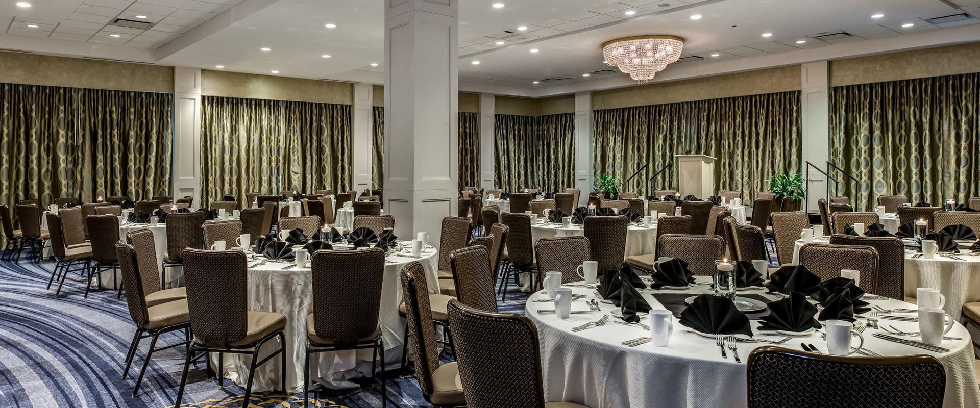 Charlotte Hotel Ballroom Round Tables