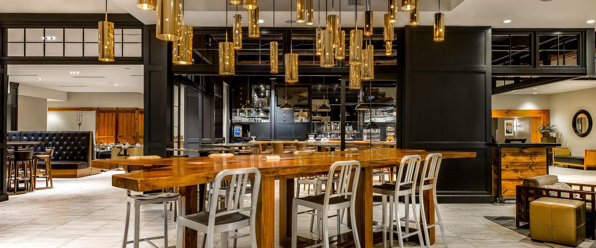 Charlotte NC Hotel Bar Hightop Tables