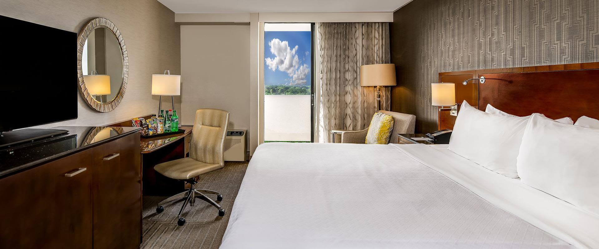 Charlotte Hotel Guest Room King Bed