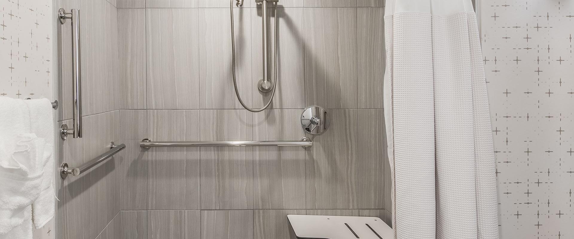 Denver Accessible Bathroom Roll In Shower