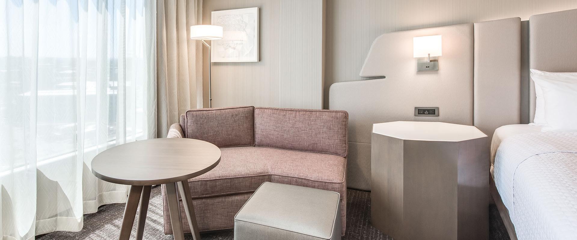 Denver Guest Room Sitting Area