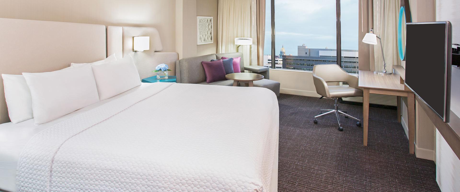 Denver Room Interior With City View