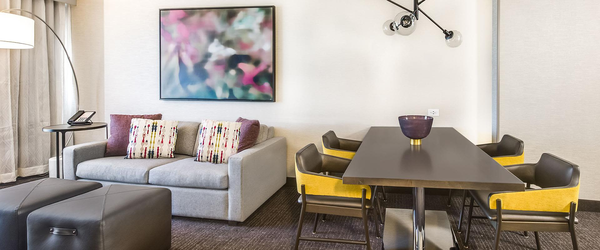 Denver Suite Sitting Area With Table