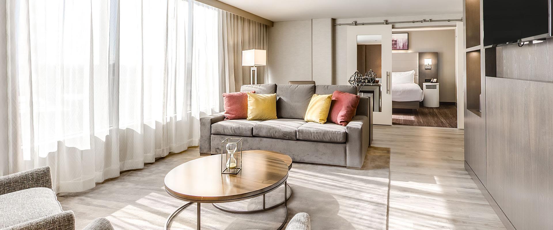 Denver Presidential Suite Sitting Area