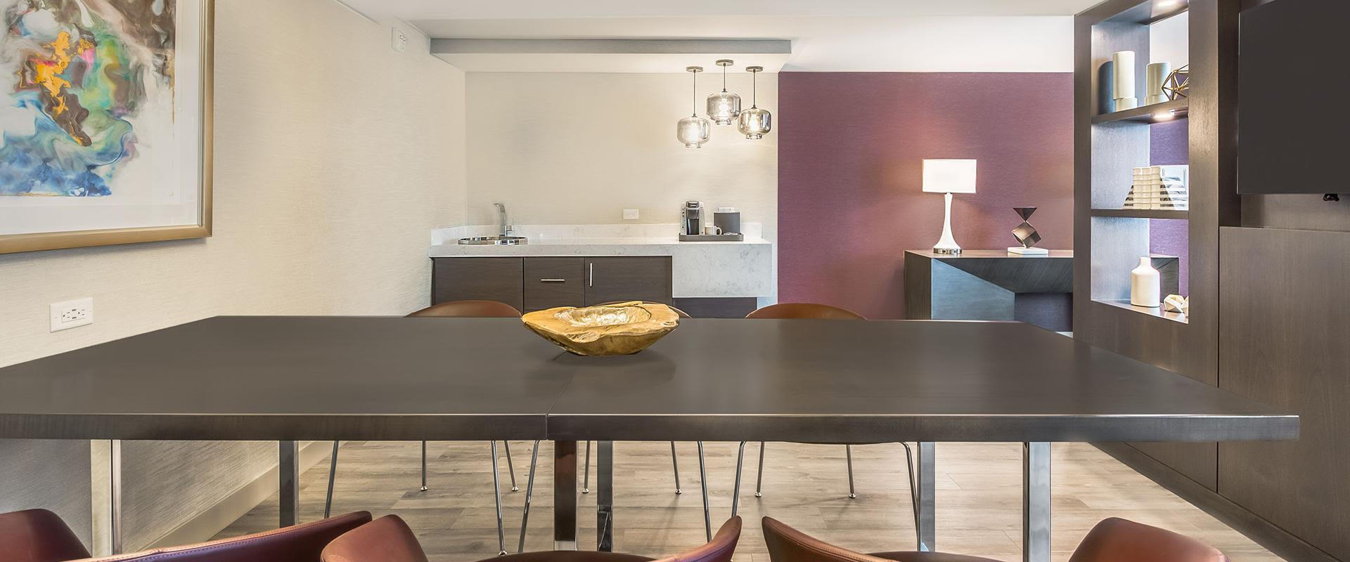Denver Presidential Suite Meeting Table