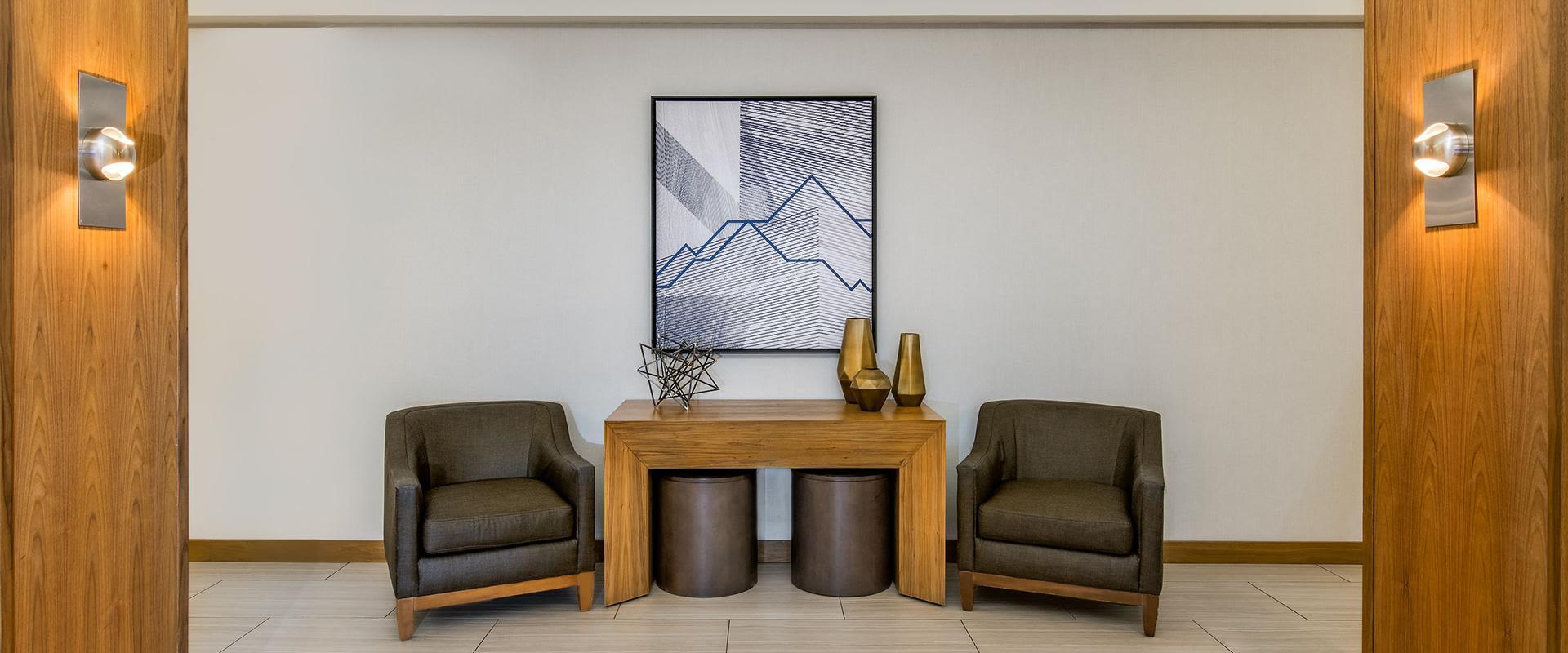 Denver Lobby Area Chairs