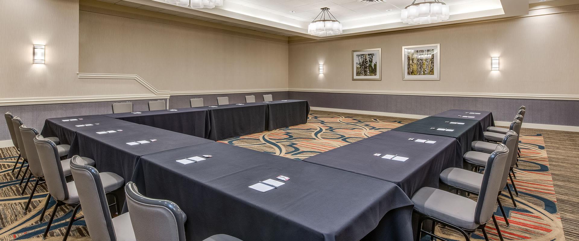 Denver Conference Setup With Desk