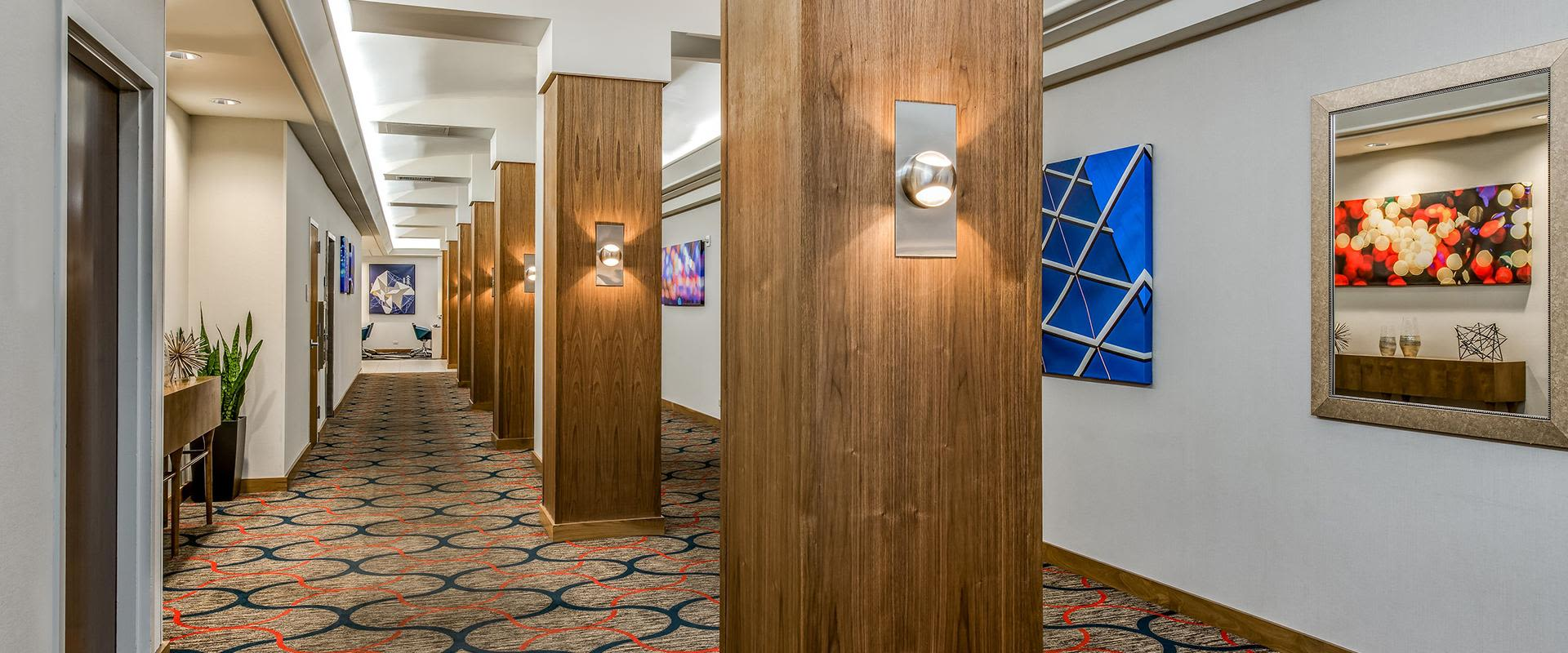 Denver Hotel Reception Area