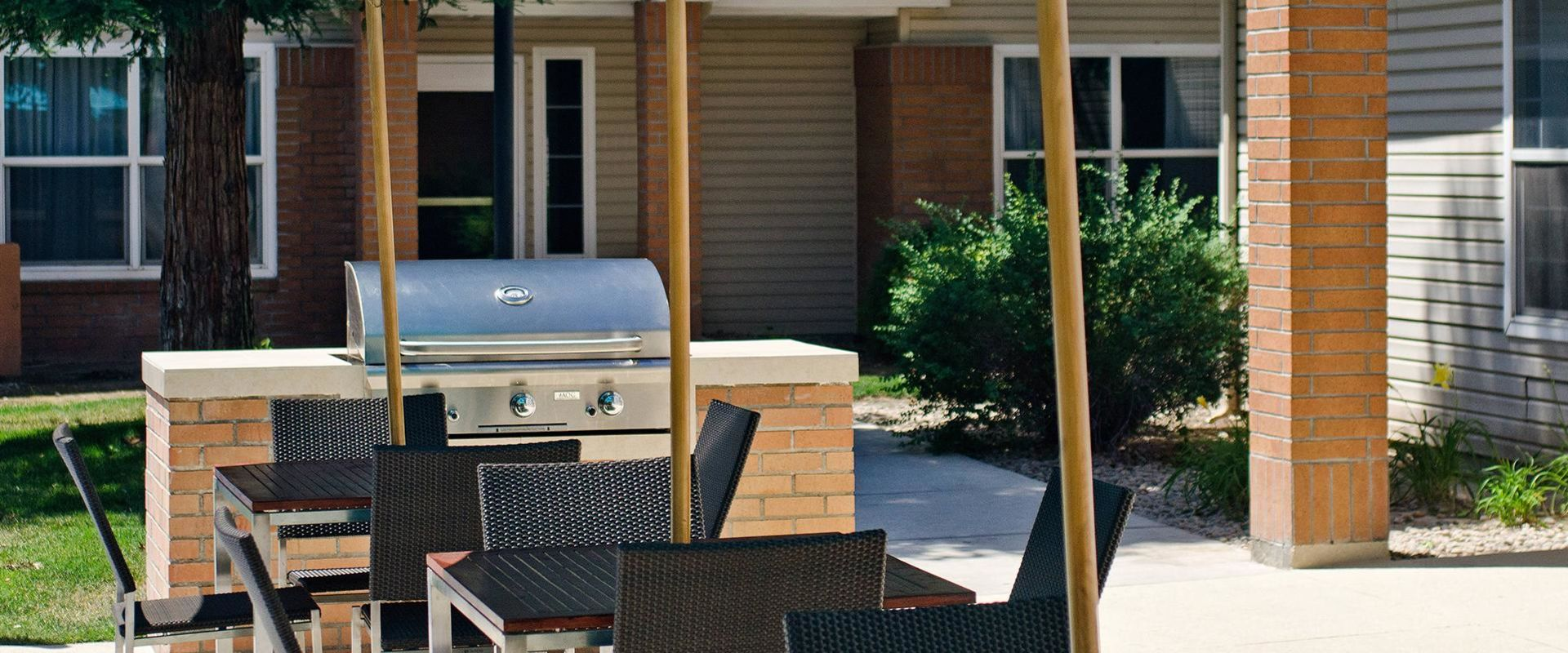 Outdoor Barbecue Area