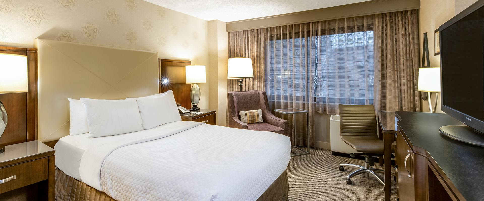 White Plains Hotel Guest Room
