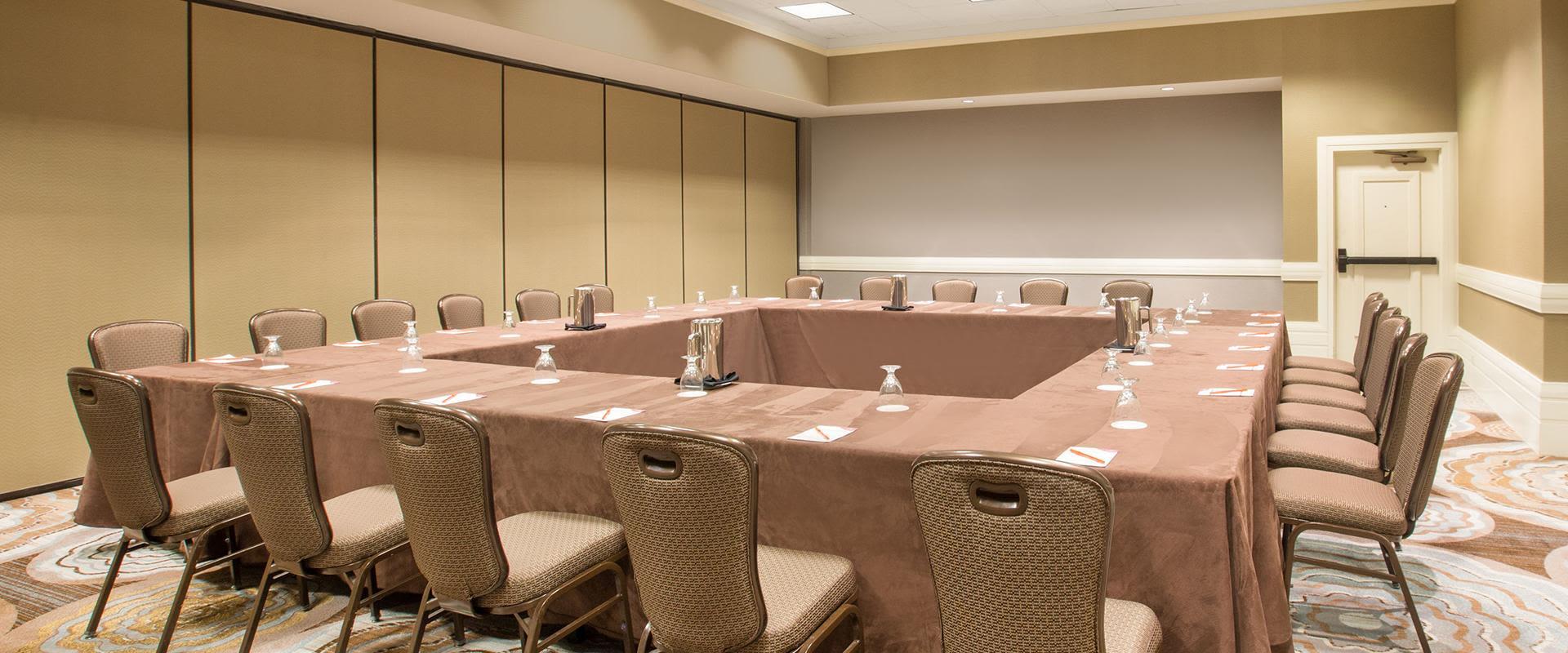 Redondo Beach Meeting Room Square Table