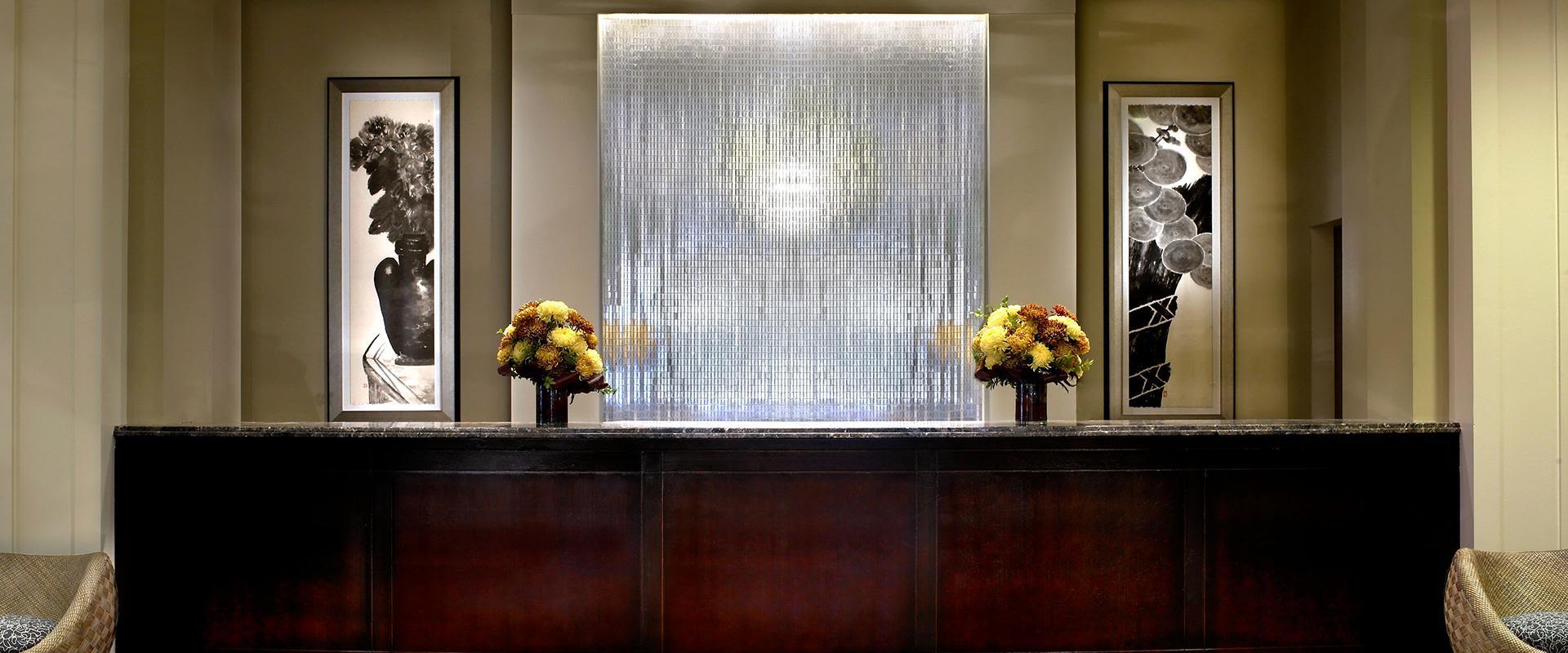 Downtown Seattle Hotel Reception Desk