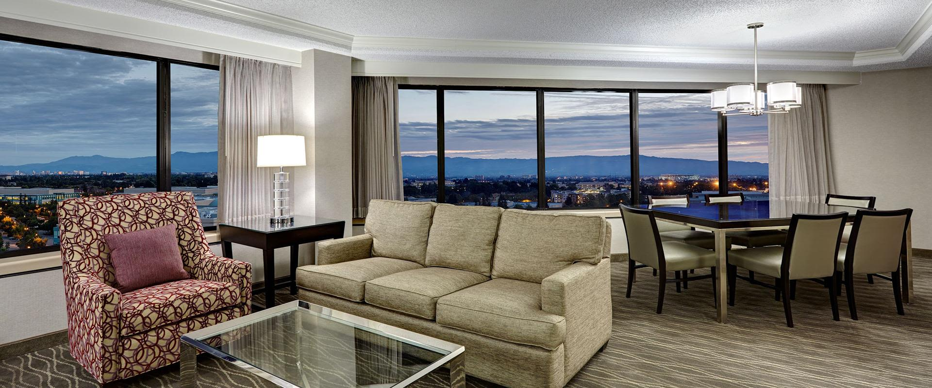 San Jose Spacious Hotel Suite Interior