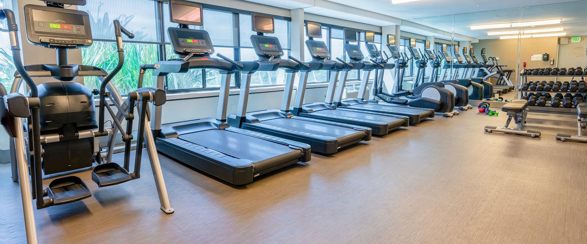 San Jose Hotel Fitness Center Machines