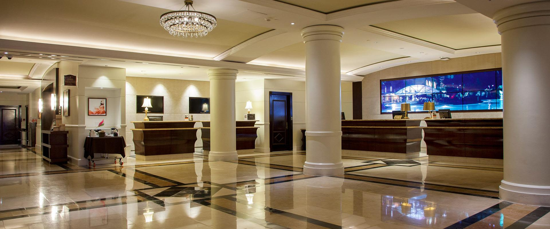San Juan Resort Front Desk Lobby