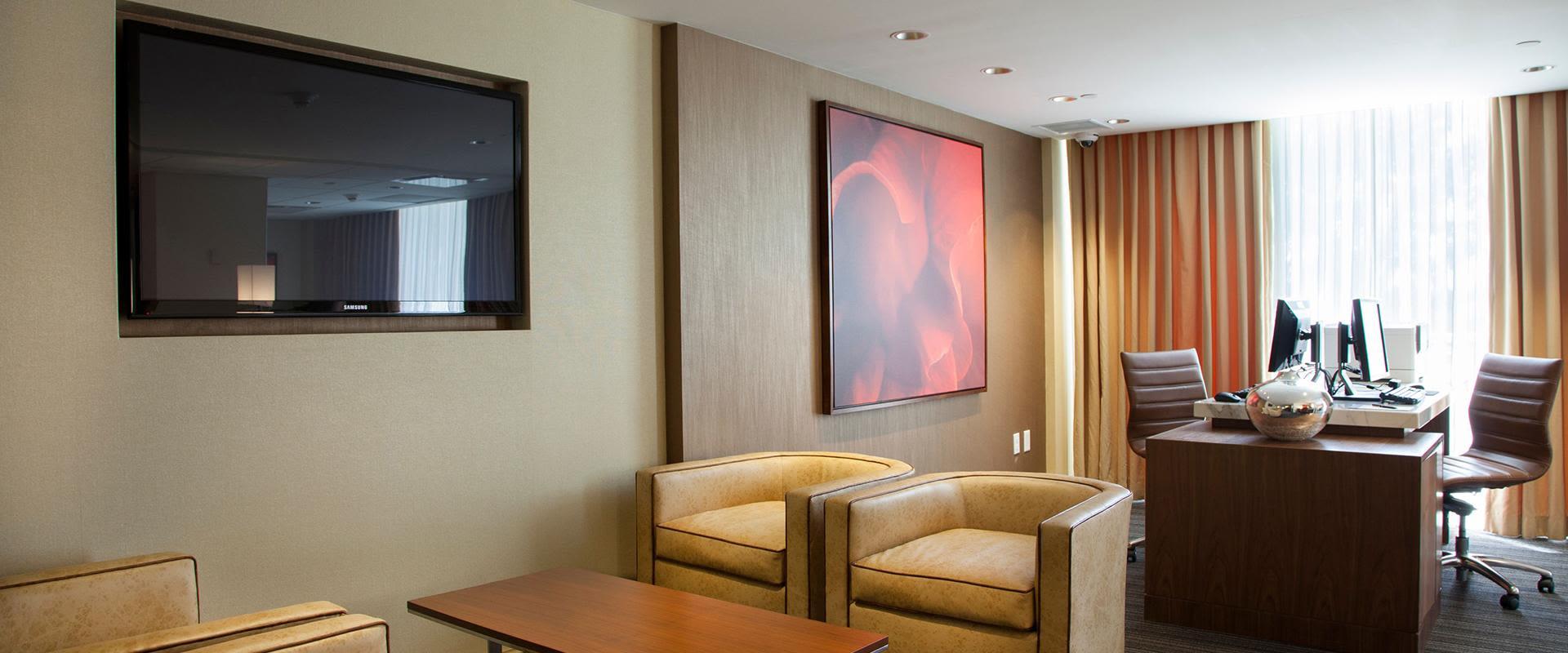 San Juan Resort Business Center Seating