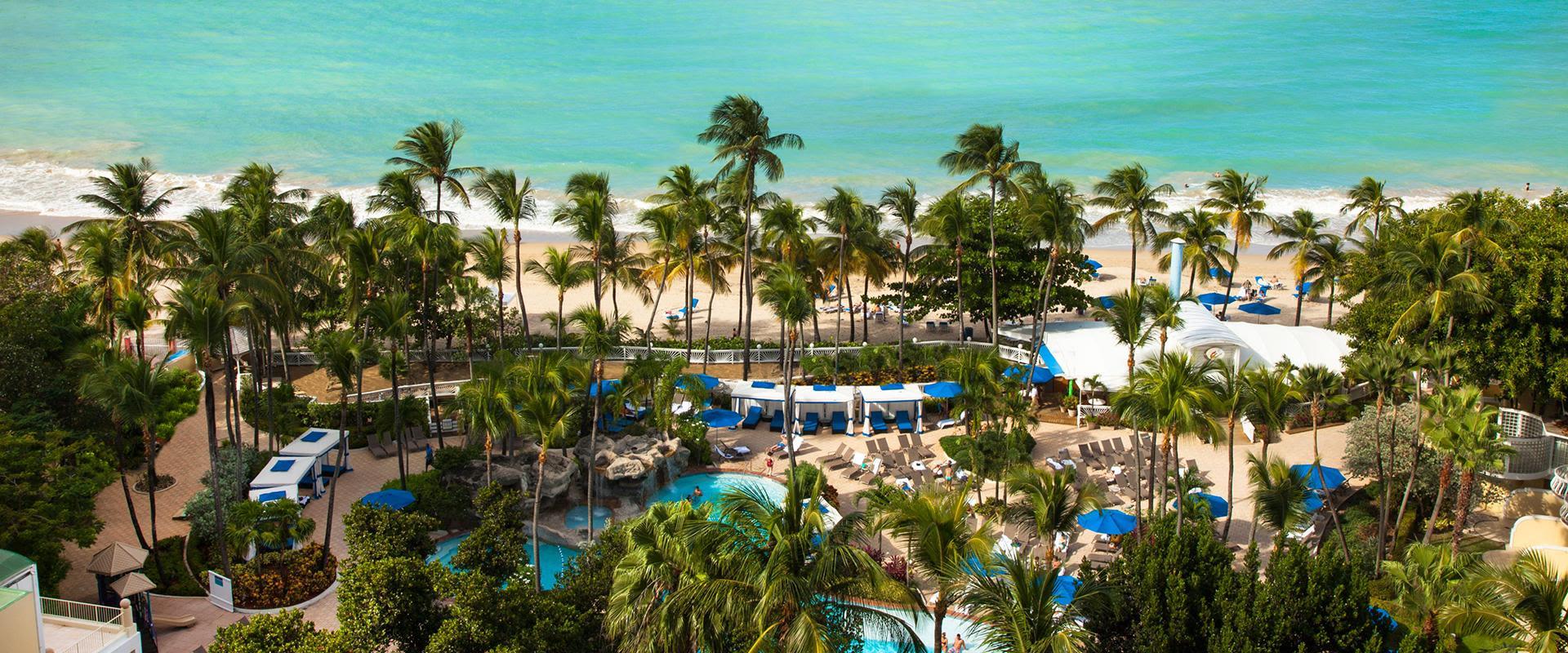 San Juan Resort Beach Area Overview