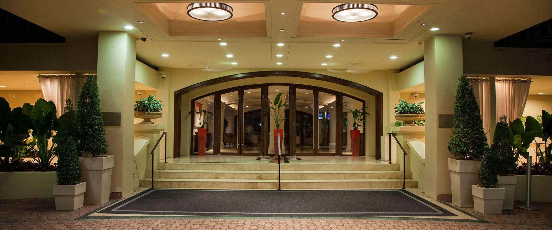 San Juan Puerto Rico Resort Entrance