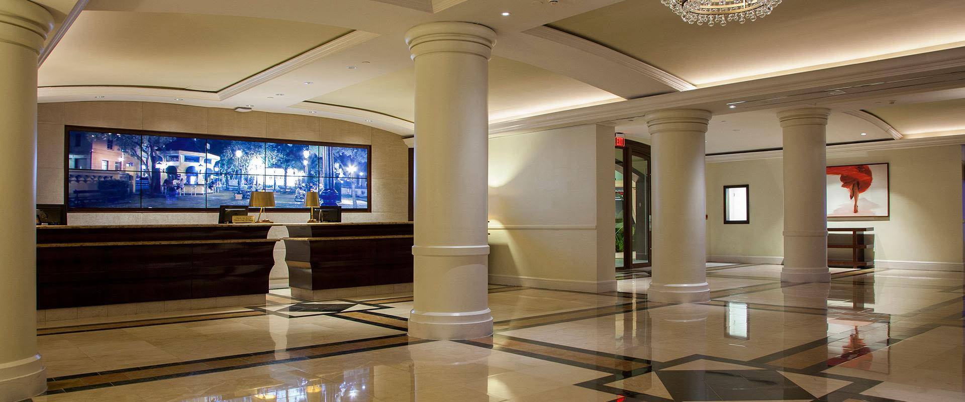 San Juan Resort Reception Area