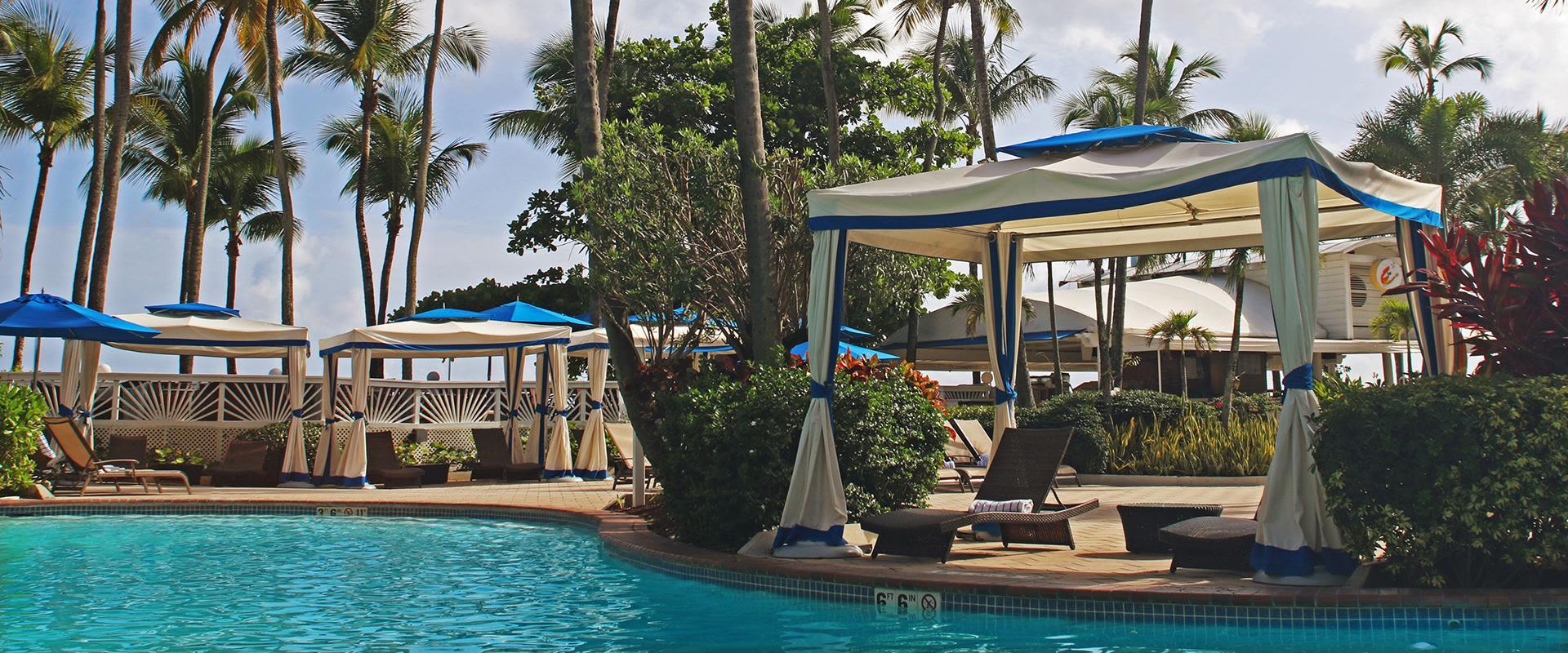 San Juan Resort Poolside Cabanas