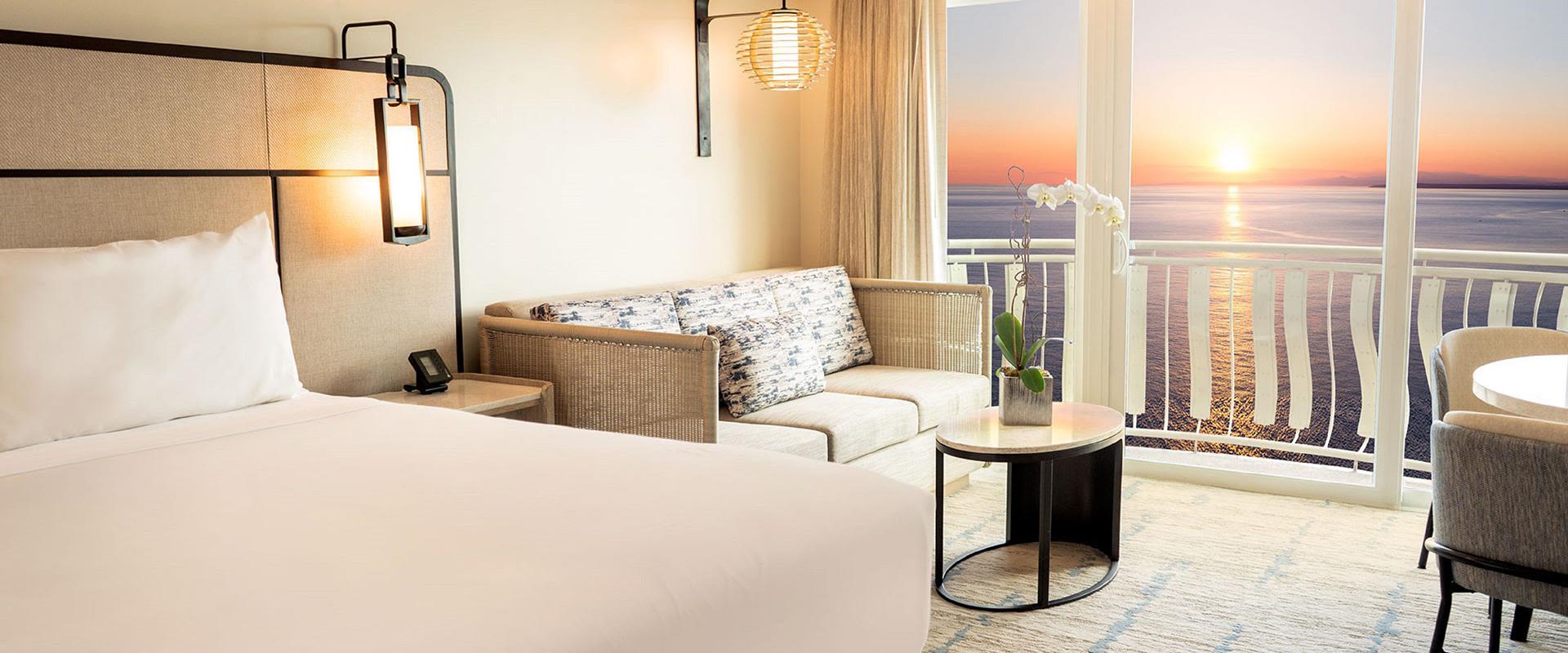 San Juan Guest Room Sunset Oceanview