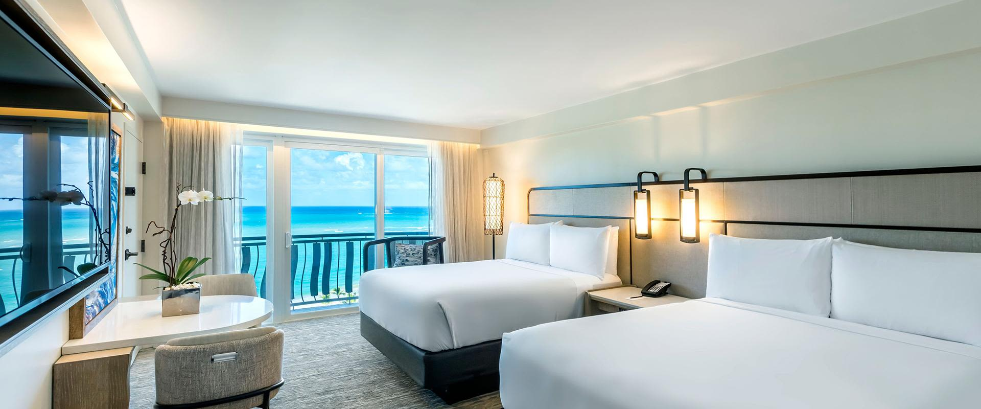 Double Bed Guest Room Oceanview