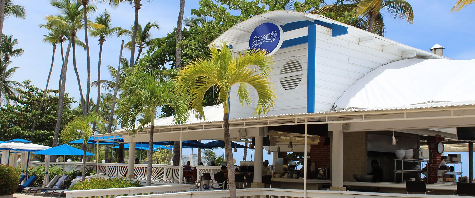 San Juan Resort Outdoor Patio Bar