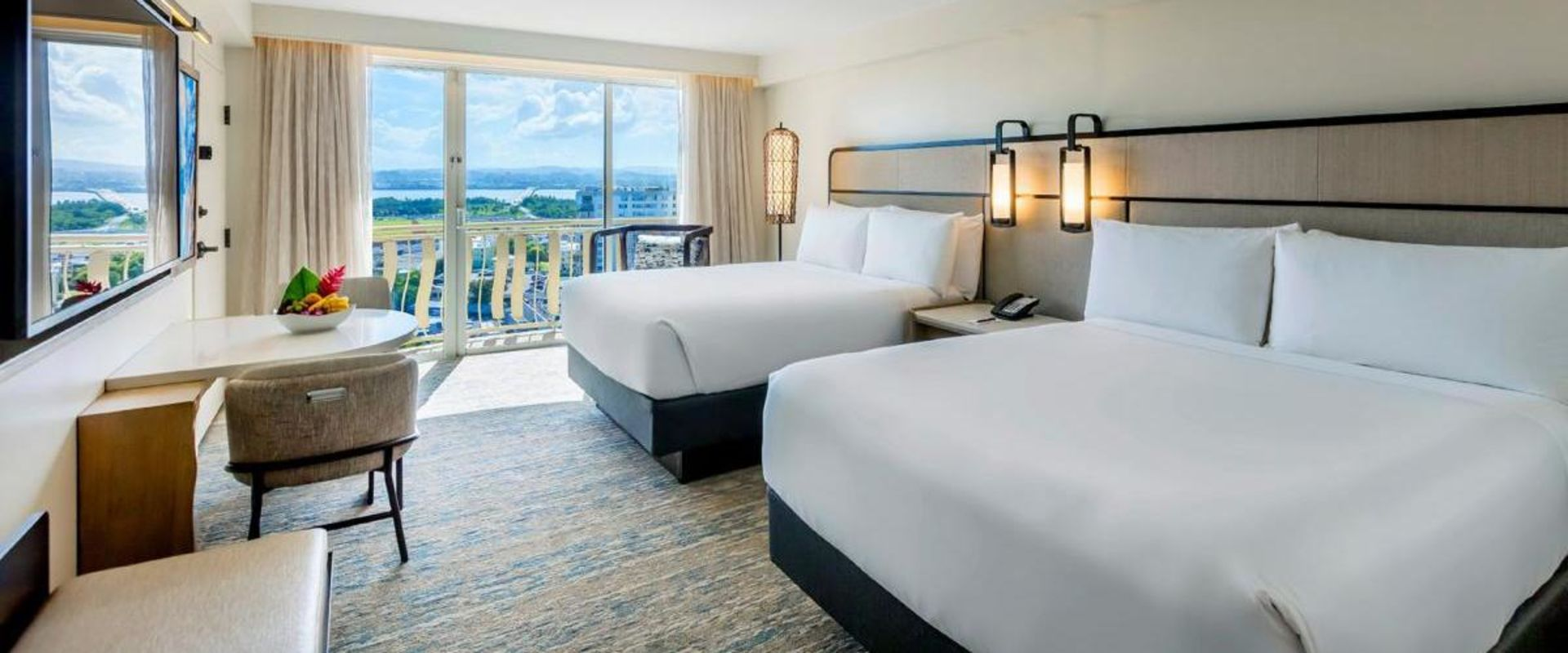 Double Bed Guest Room Laguna View