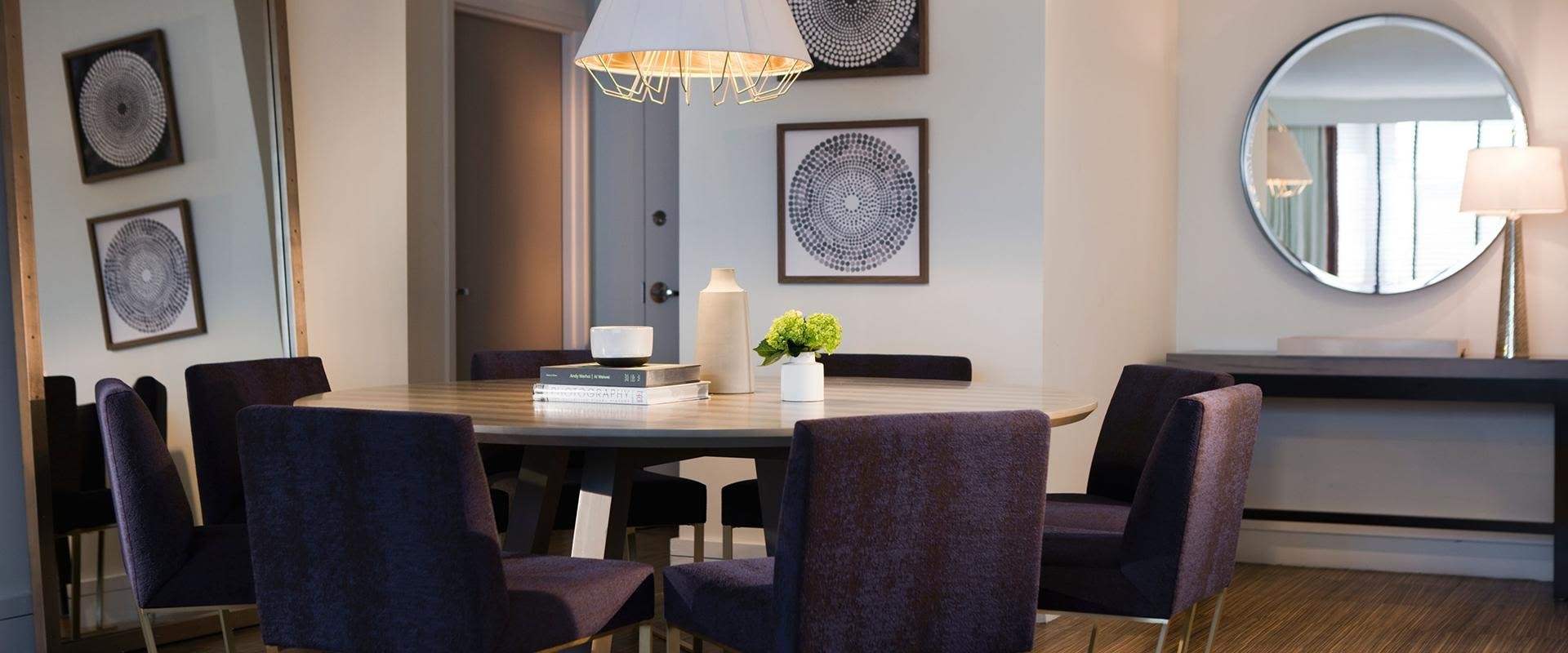Dupont Circle Presidential Suite Dining Room