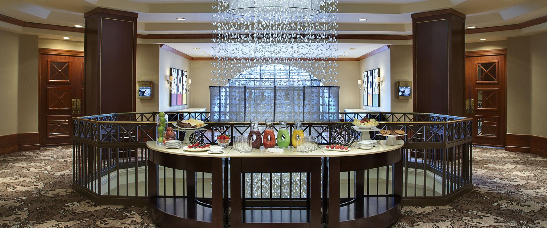 Toronto Grand Foyer with Food Table